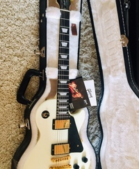 Gibson Les Paul studio Alphin White